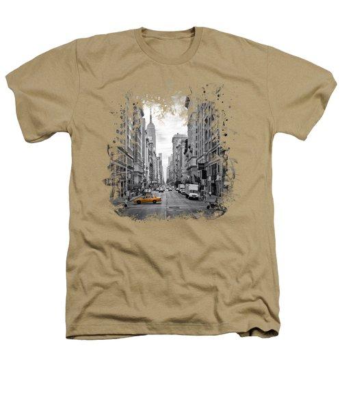 New York City 5th Avenue Heathers T-Shirt by Melanie Viola