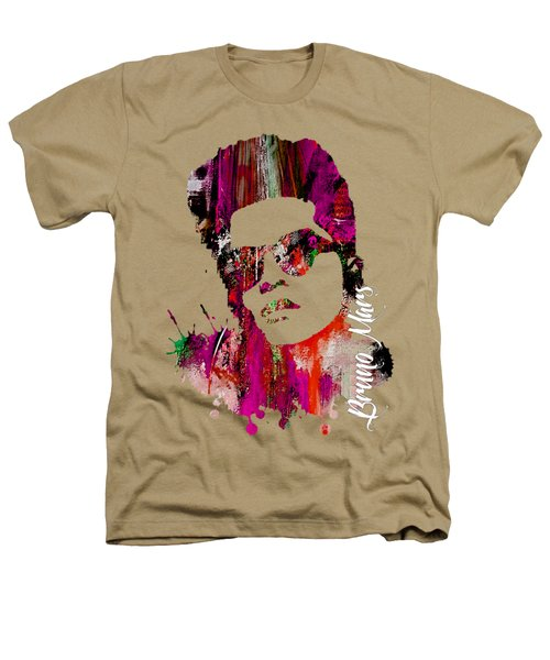Bruno Mars Collection Heathers T-Shirt