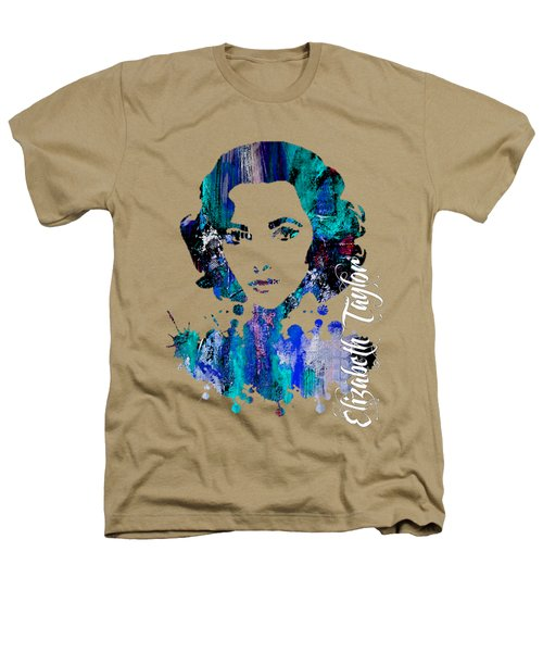 Elizabeth Taylor Collection Heathers T-Shirt by Marvin Blaine