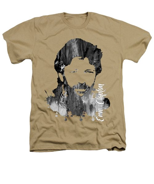 Eric Clapton Collection Heathers T-Shirt by Marvin Blaine
