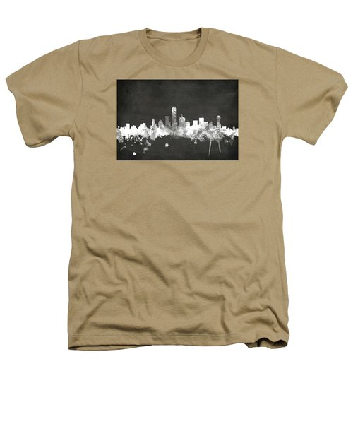 Dallas Texas Skyline Heathers T-Shirt
