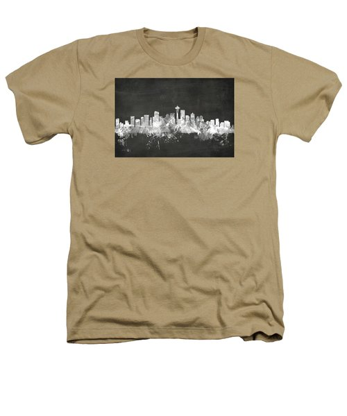 Seattle Washington Skyline Heathers T-Shirt