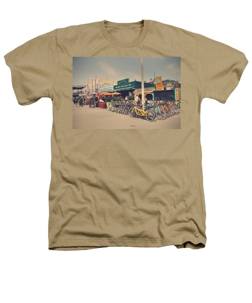 A Perfect Day For A Ride Heathers T-Shirt