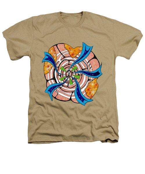 Abstract Digital Art - Ciretta V3 Heathers T-Shirt by Cersatti