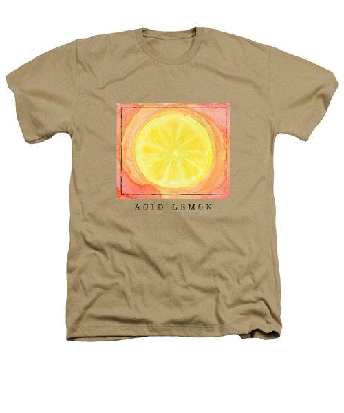 Acid Lemon Heathers T-Shirt by Kathleen Wong