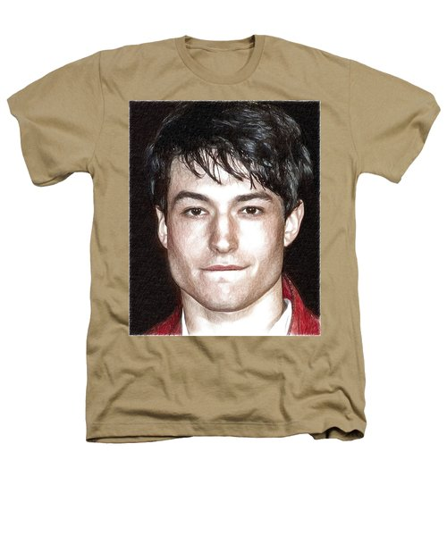Actor And Musician Ezra Miller Heathers T-Shirt by Best Actors