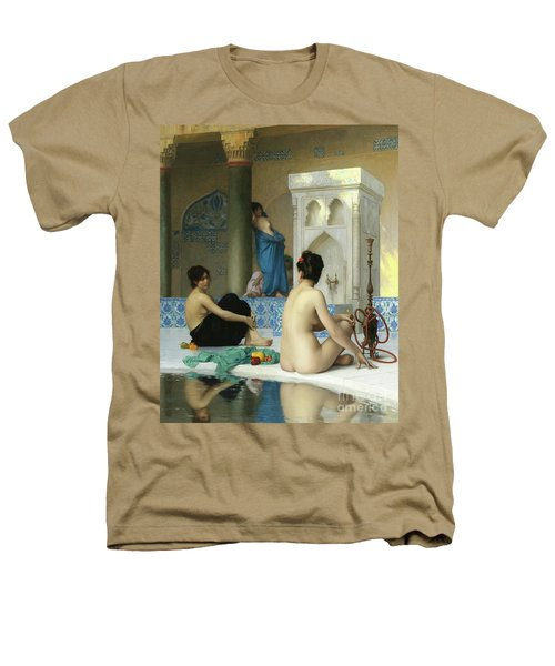 After The Bath, Jean Leon Gerome Heathers T-Shirt