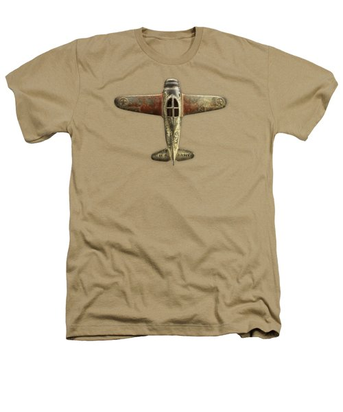 Airplane Scrapper Heathers T-Shirt by YoPedro