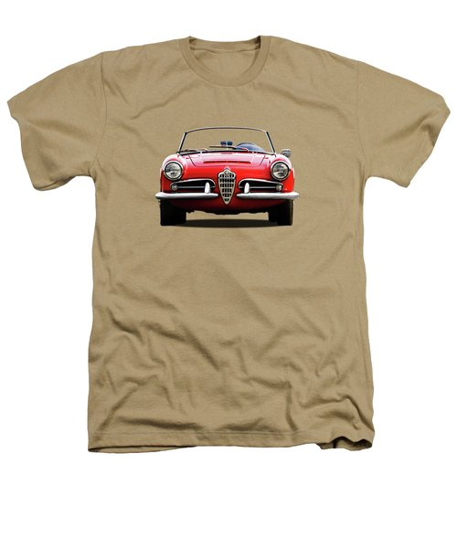 Alfa Romeo Spider Heathers T-Shirt by Mark Rogan