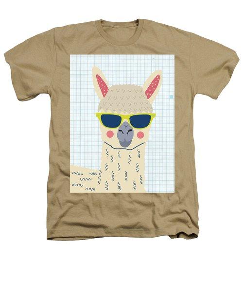 Alpaca Heathers T-Shirt by Nicole Wilson