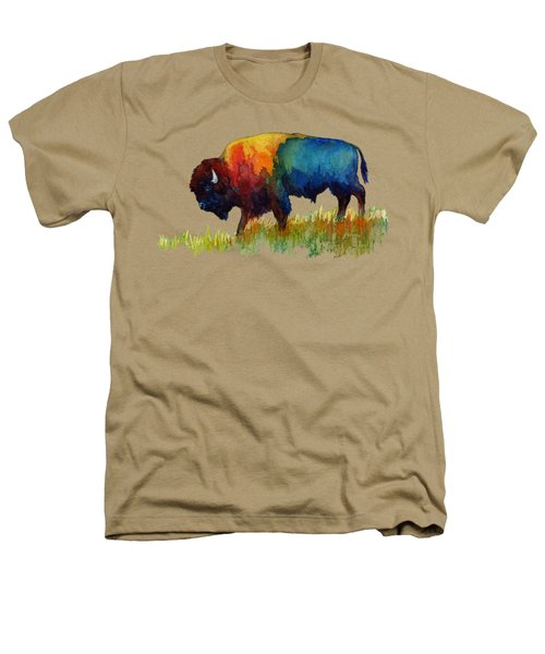 American Buffalo IIi Heathers T-Shirt by Hailey E Herrera