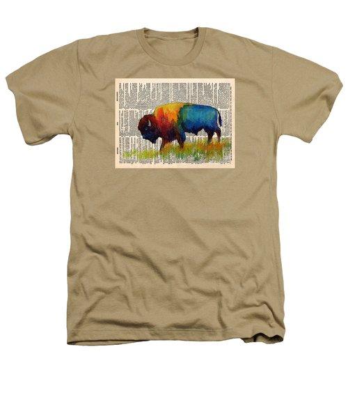American Buffalo IIi On Vintage Dictionary Heathers T-Shirt