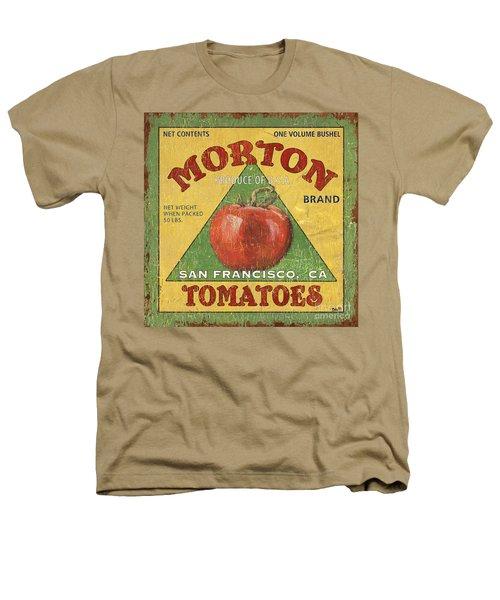 American Veggies 2 Heathers T-Shirt by Debbie DeWitt