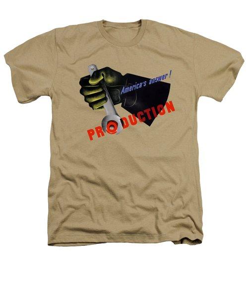 America's Answer -- Production  Heathers T-Shirt