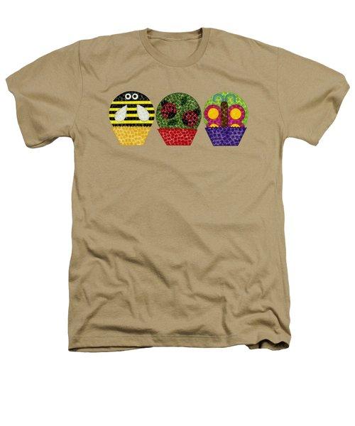Animal Cupcakes 1 Heathers T-Shirt
