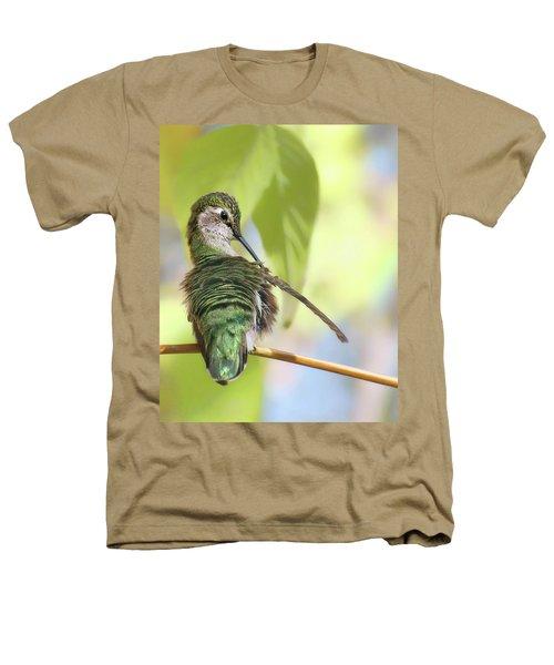 Anna's Hummingbird - Preening Heathers T-Shirt