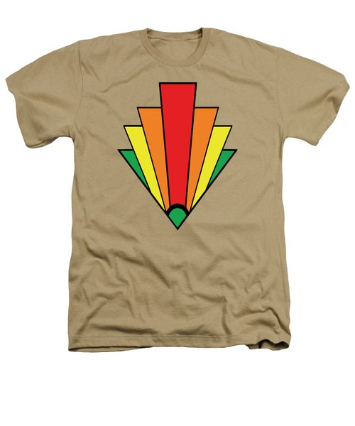 Art Deco Chevron Heathers T-Shirt