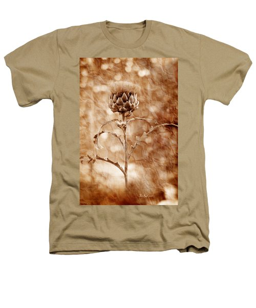 Artichoke Bloom Heathers T-Shirt by La Rae  Roberts