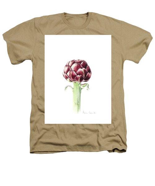 Artichoke From Roman Market Heathers T-Shirt by Alison Cooper