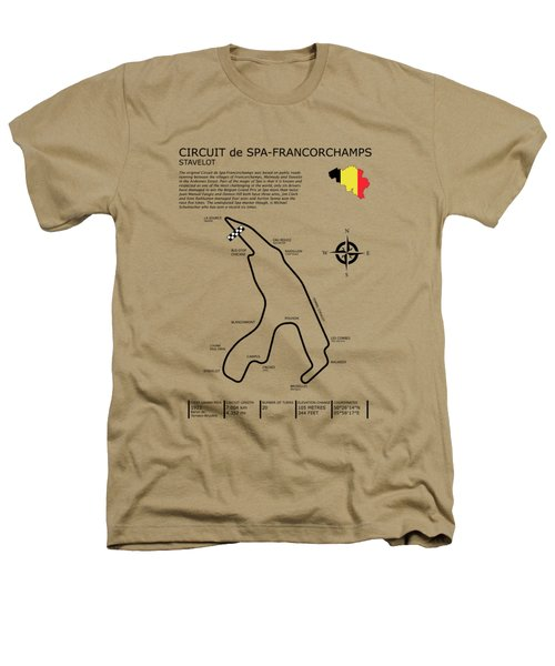 Spa Francorchamps Heathers T-Shirt by Mark Rogan
