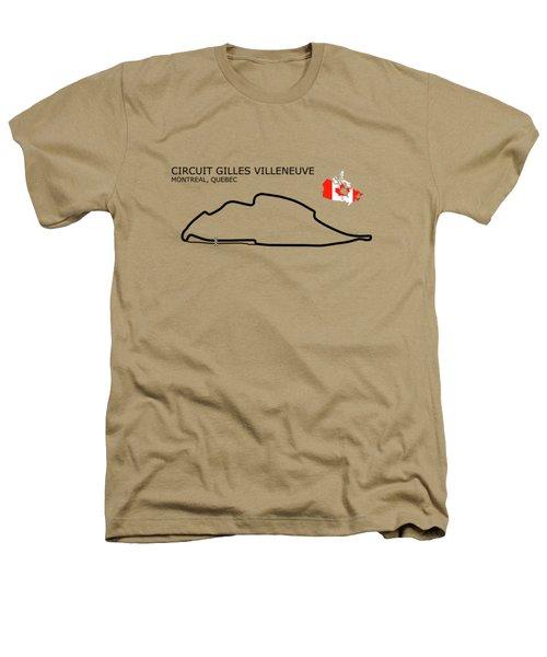 Circuit Gilles Villeneuve Heathers T-Shirt