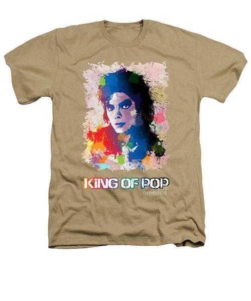 King Of Pop Heathers T-Shirt by Anthony Mwangi