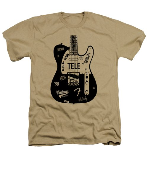 Fender Telecaster 58 Heathers T-Shirt by Mark Rogan
