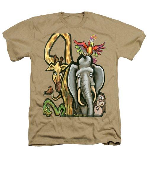 Zoo Animals Heathers T-Shirt