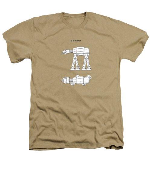 Star Wars - At-at Patent Heathers T-Shirt by Mark Rogan