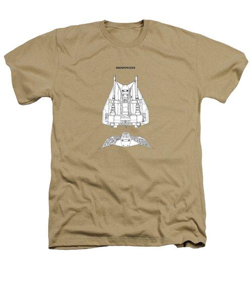 Star Wars - Snowspeeder Patent Heathers T-Shirt by Mark Rogan