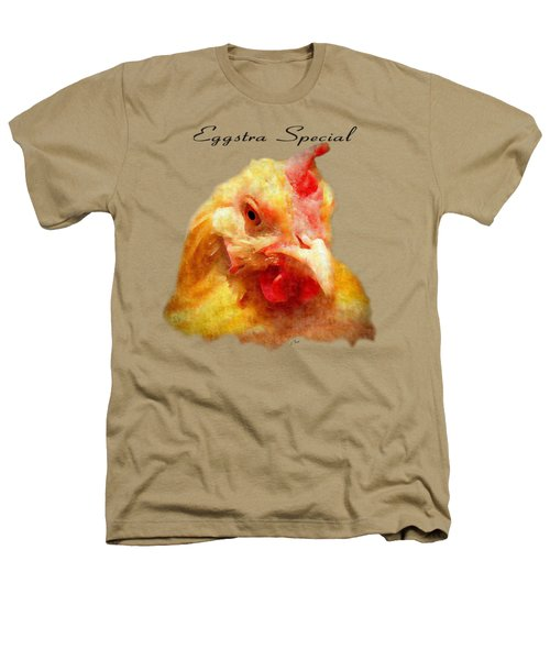 Goldie's Turn - Silk Paint Heathers T-Shirt by Anita Faye