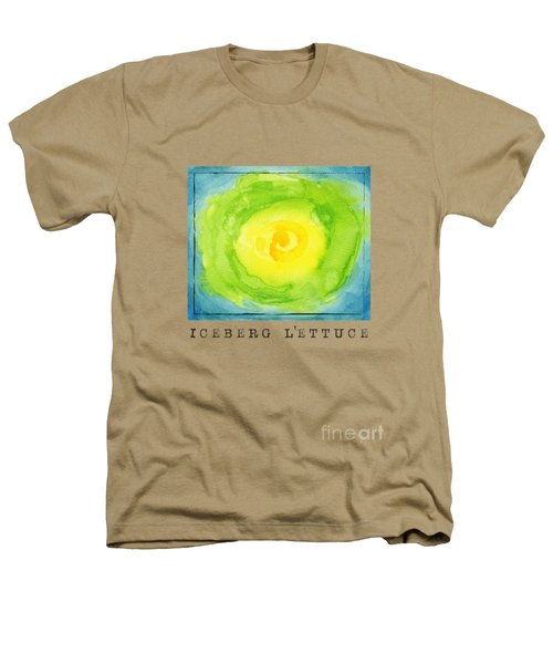 Abstract Iceberg Lettuce Heathers T-Shirt by Kathleen Wong