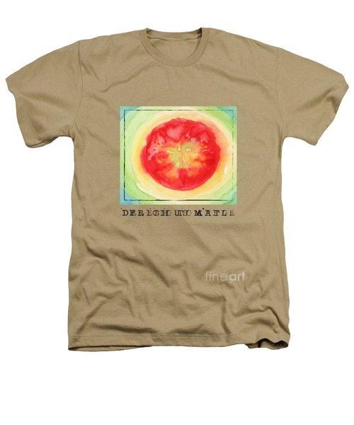 Fresh Tomato Heathers T-Shirt by Kathleen Wong