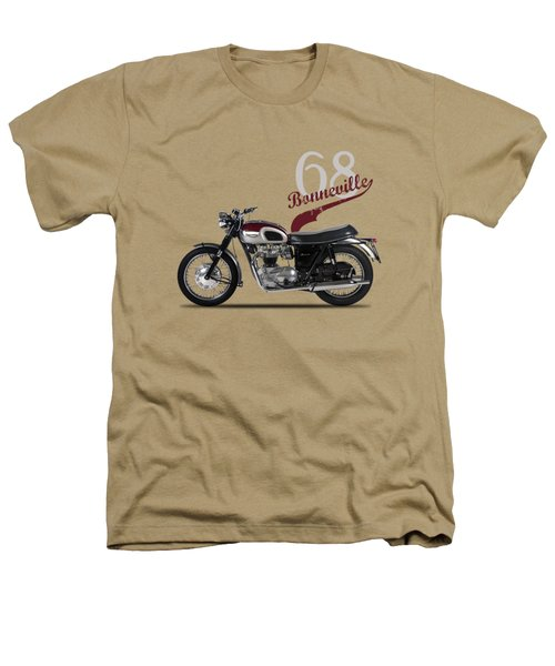 Triumph Bonneville T120 1968 Heathers T-Shirt by Mark Rogan