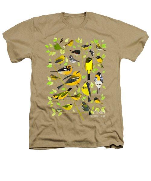 Warblers 1 Heathers T-Shirt by Scott Partridge