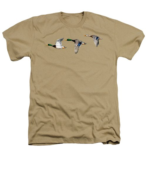 Flying Mallards Heathers T-Shirt