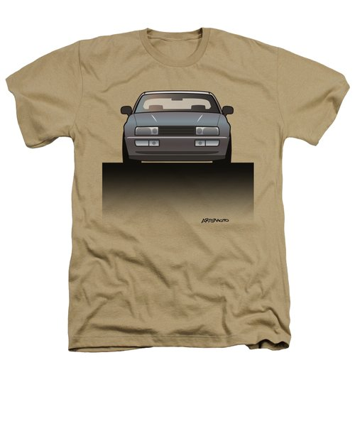 Modern Euro Icons Series Vw Corrado Vr6 Heathers T-Shirt by Monkey Crisis On Mars