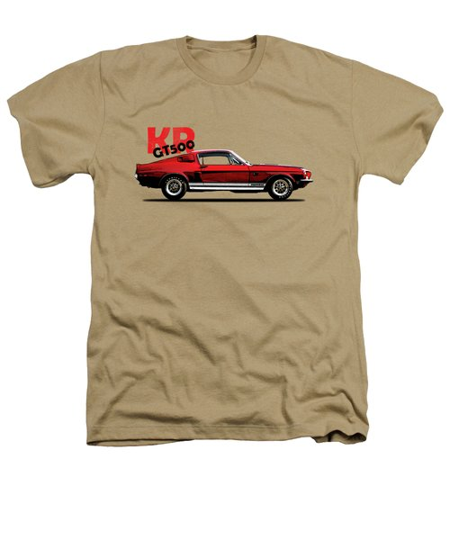 Shelby Mustang Gt500 Kr 1968 Heathers T-Shirt by Mark Rogan