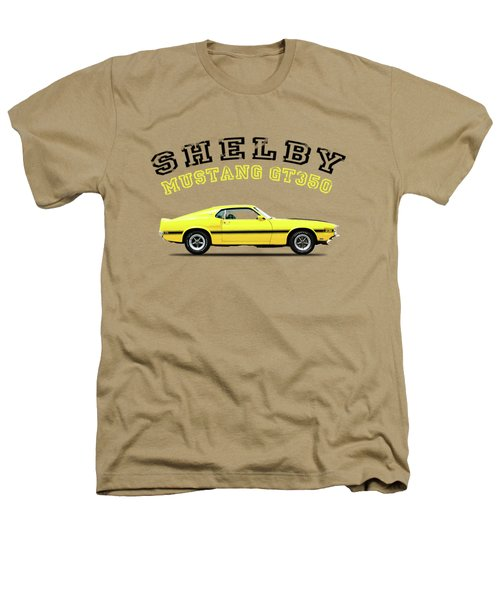 Shelby Mustang Gt350 1969 Heathers T-Shirt by Mark Rogan