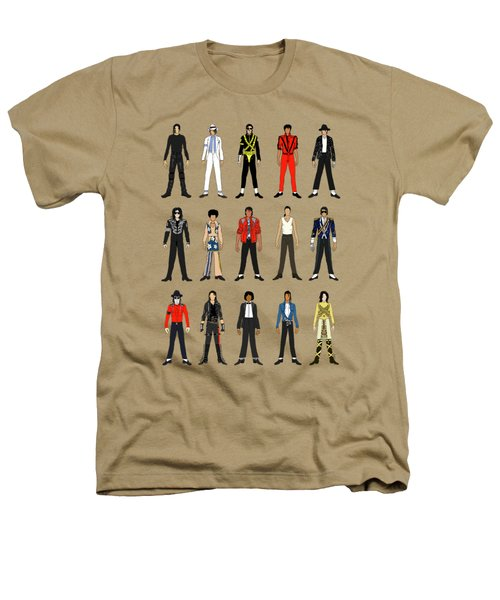 Outfits Of Michael Jackson Heathers T-Shirt by Notsniw Art