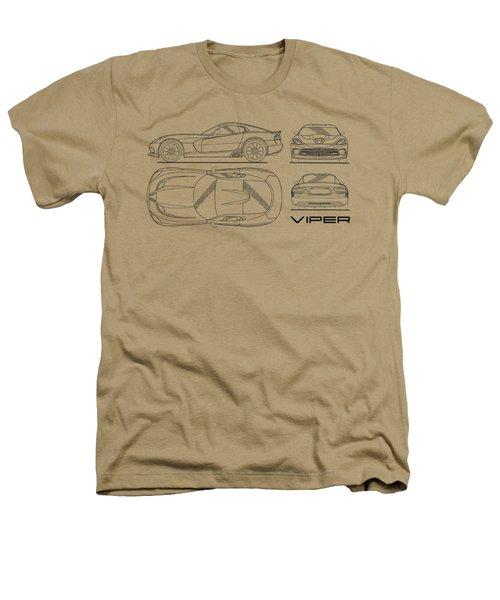 Srt Viper Blueprint Heathers T-Shirt