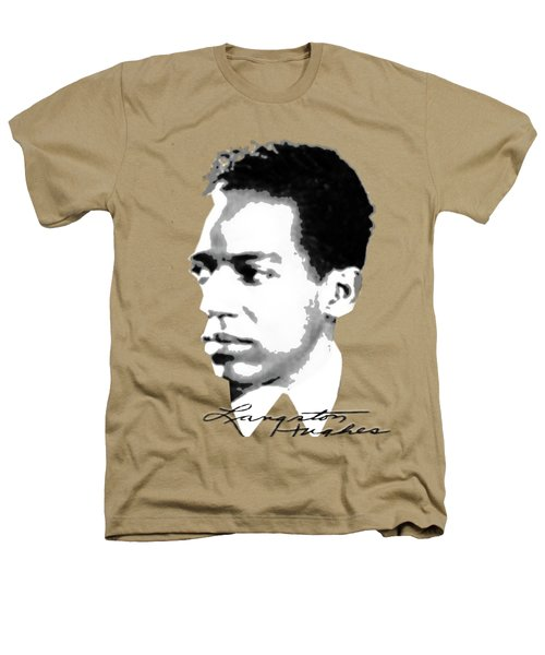 Langston Hughes Heathers T-Shirt by Asok Mukhopadhyay