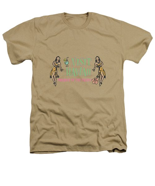 Visit Hawaii Heathers T-Shirt by Little Bunny Sunshine