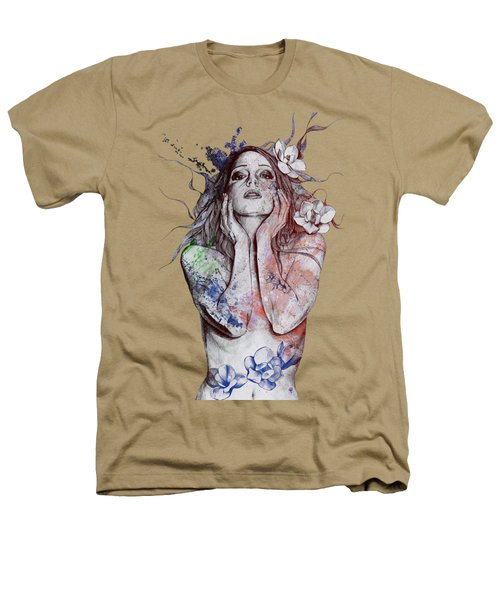 The Withering Spring - Wine Heathers T-Shirt