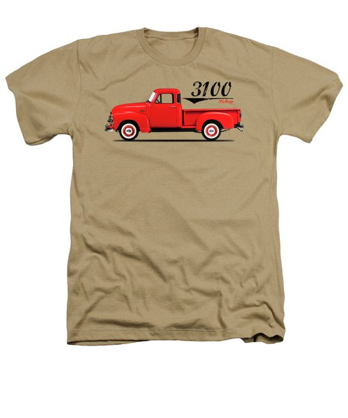 The 3100 Pickup Truck Heathers T-Shirt by Mark Rogan