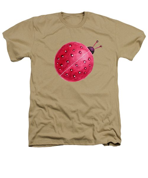 Beautiful Abstract Watercolor Ladybug Heathers T-Shirt