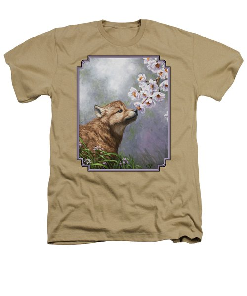 Wolf Pup - Baby Blossoms Heathers T-Shirt