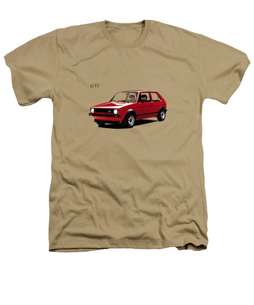 Vw Golf Gti 1976 Heathers T-Shirt by Mark Rogan