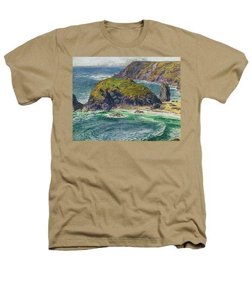 Asparagus Island Heathers T-Shirt by William Holman Hunt