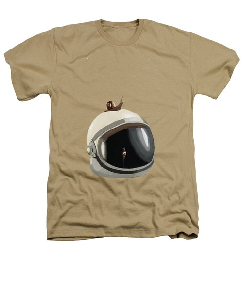 Astronaut's Helmet Heathers T-Shirt by Keshava Shukla